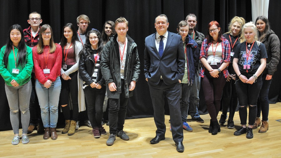 Michael Dugher MP visit